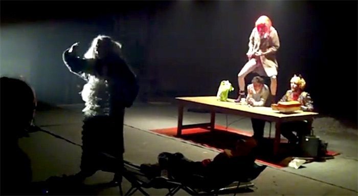 Спектакль Уран в бункере Дрнов