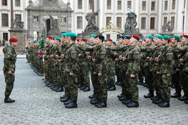 чешские военные