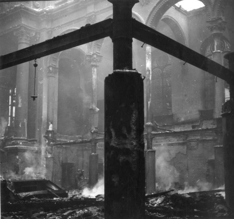 Вторая мировая война. Бомбардировка Праги американскими ВВС в 1945 году