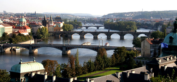 prague-bridges
